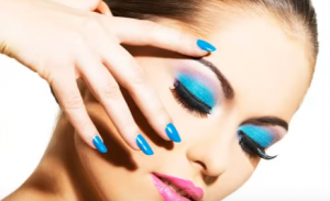 Overview of a make up artist theme